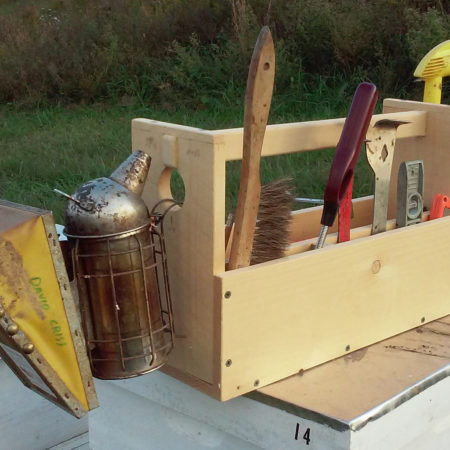 Beekeeper tool box by MapleBee Farm